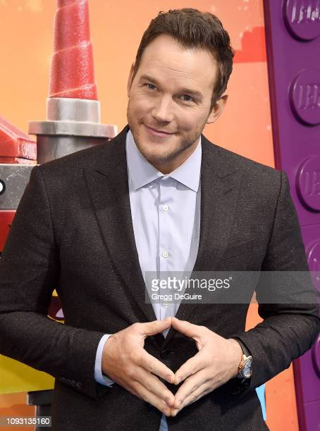 Chris Pratt attends the Premiere Of Warner Bros Pictures' The Lego Movie 2 The Second Part at Regency Village Theatre on February 2 2019 in Westwood...