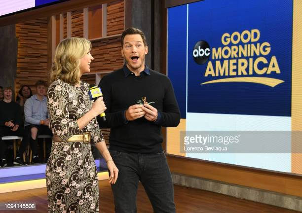 Chris Pratt is a guest on Good Morning America Tuesday Feb 5 airing on the Walt Disney Television via Getty Images Television Network GMA19 LARA