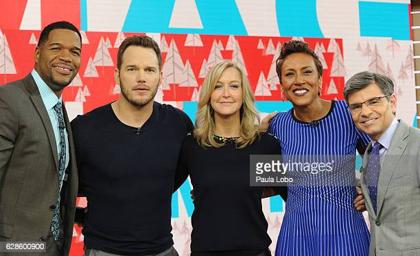 AMERICA Chris Pratt is a guest on 'Good Morning America' Wednesday December 7 airing on the ABC Television Network MICHAEL