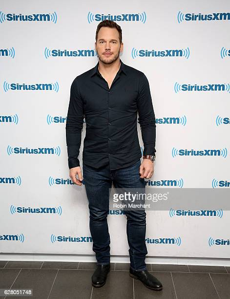 Chris Pratt visits at SiriusXM Studio on December 6 2016 in New York City
