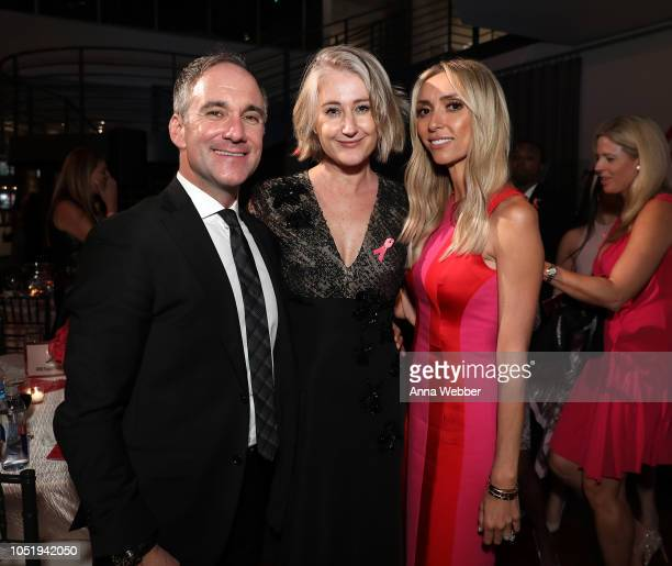 Chris Princis Alice HamptonPrincis and Giuliana attend The Pink Agenda's Annual Gala at Tribeca Rooftop on October 11 2018 in New York City