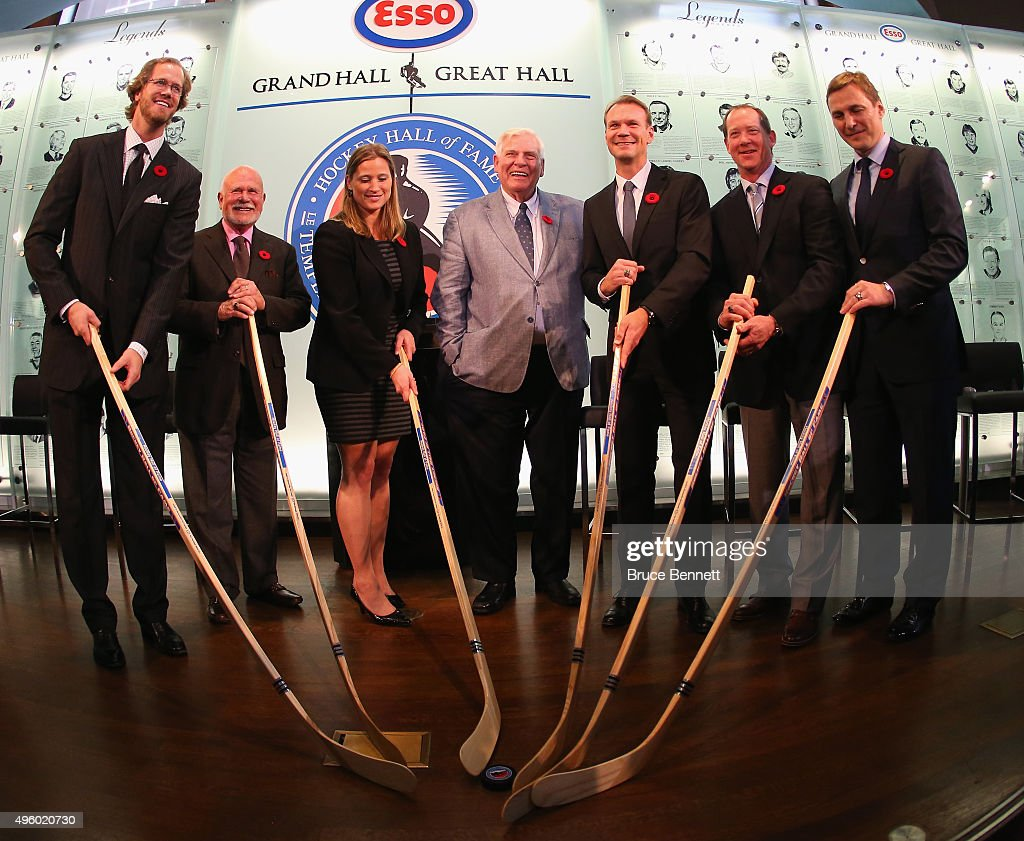 2015 Hockey Hall Of Fame Induction - Press Conference