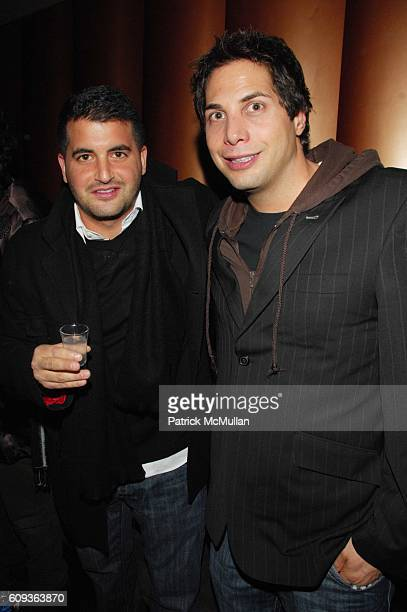Chris Reda and Joe Francis attend DVD Release Party for THINKFilmís Farce of the Penguins at Tenjune NYC on January 30 2007