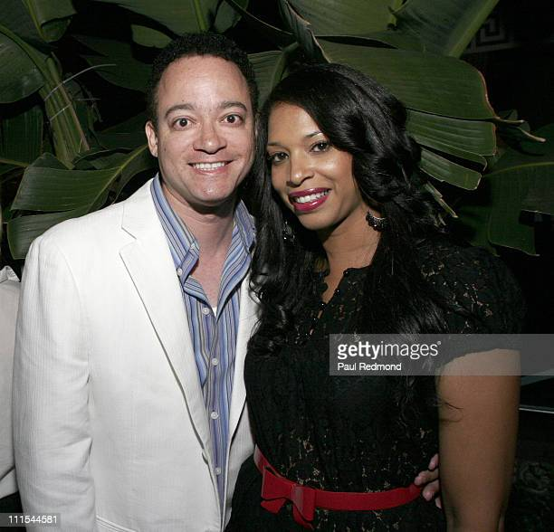 Chris Reed with his wife Kim during Los Angeles Confidential Magazine PreEmmy Party Honoring Cover Beauty Kyra Sedgwick Presented by Hendrix Electric...