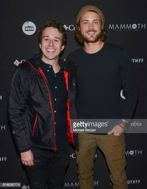 Chris Reinacher and Dylan Efron attend Mammoth Film Festival on February 8 2018 in Mammoth Lakes California