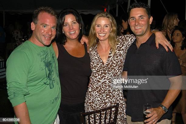 Chris Reinhardt Kathy Reinhardt Ellenka Baumrind and David Baumrind attend Cocktail Party With Steven Schonfeld Celebrating Mindy Greenblatt's...