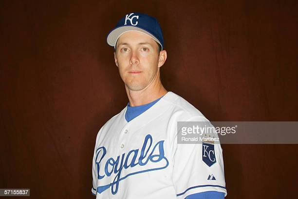 Chris Richard of the Kansas City Royals poses for a portrait during Spring Training Photo Day at Surprise Stadium on February 25, 2006 in Surprise,...