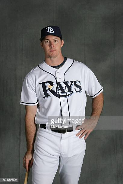 Chris Richard of the Tampa Bay Rays poses during Photo Day on February 22, 2008 at the Raymond A. Naimoli Baseball Complex in St. Petersburg, Florida.