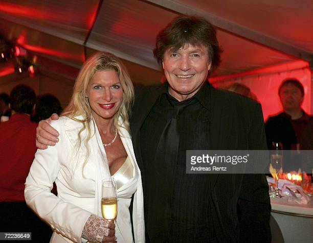 Chris Roberts and wife Claudia Roberts attend the after show party at the 50th Anniversary of Bravo Magazine October 21 2006 in Hamburg Germany