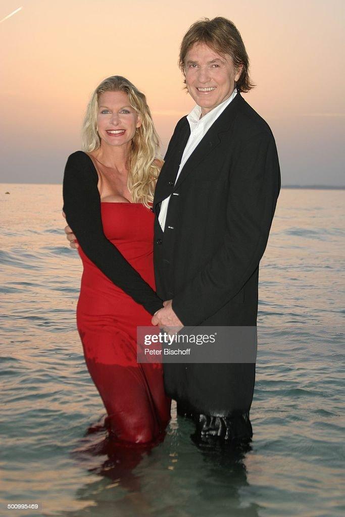 Chris Roberts, Ehefrau Claudia Roberts, Urlaub, Strand Es ...