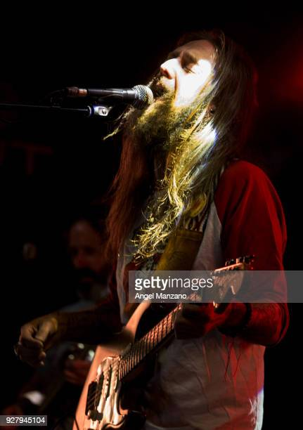 Chris Robinson and Brotherhood performs on stage on March 5 2018 in Madrid Spain