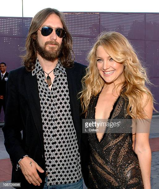 Chris Robinson and Kate Hudson during 'The Skeleton Key' Los Angeles Premiere Red Carpet at Universal Studios Cinema in Los Angeles California United...