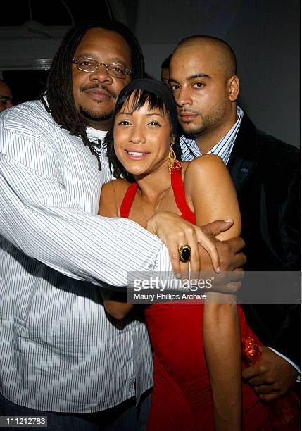 Chris Robinson Dania Ramirez and Jessy Terrero during Hpnotiq Present a Libra Birthday Celebration for Jessy Terrero Chris Robinson and DJ Mark Da...