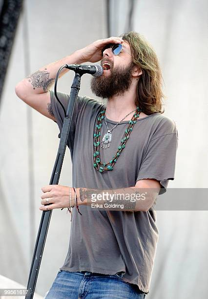 Chris Robinson of The Black Crowes performs at day 1 of The Hangout Beach Music and Arts Festival on May 14 2010 in Gulf Shores Alabama