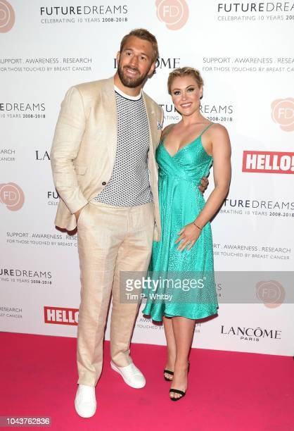 Chris Robshaw and Camilla Kerslake arrive at 'TEN - A Decade of Dreams' at London Palladium on September 30, 2018 in London, England. The Event is in...