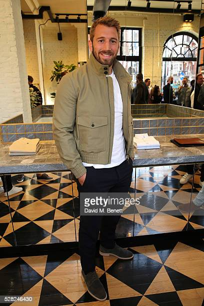 Chris Robshaw attends Ami Mayfair Store Opening on May 4, 2016 in London, England.