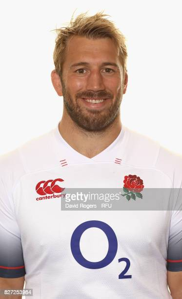 Chris Robshaw of England poses for a portrait at The Lensbury on August 5 2017 in Teddington England