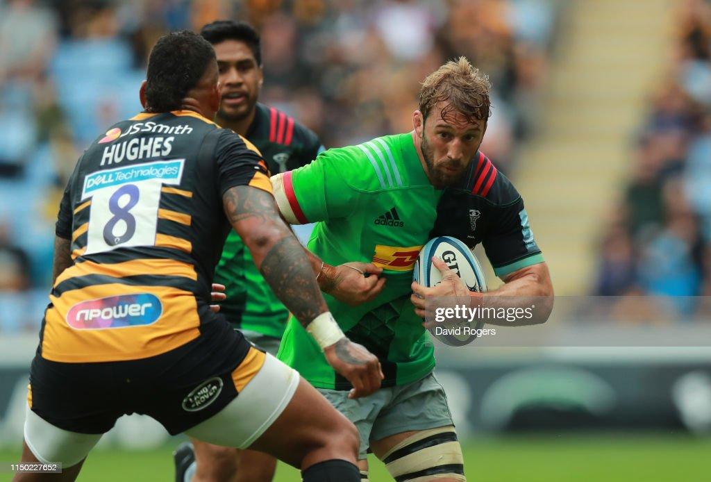 Wasps v Harlequins - Gallagher Premiership Rugby : News Photo
