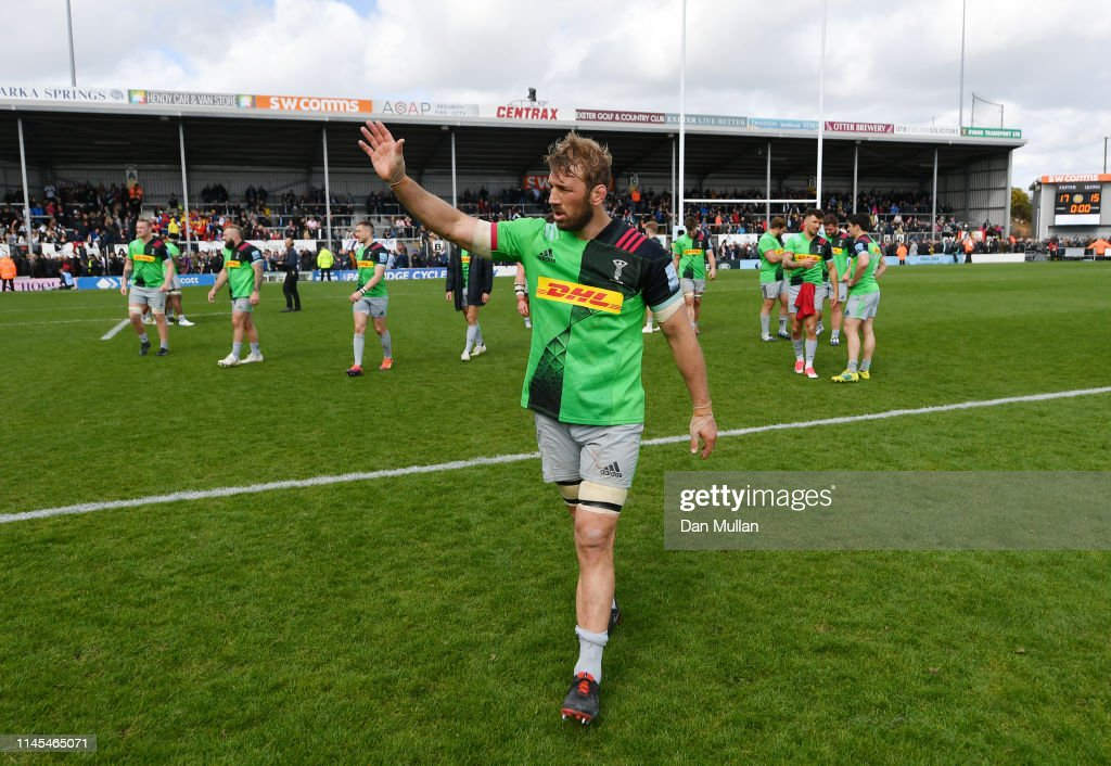 Exeter Chiefs v Harlequins - Gallagher Premiership Rugby : News Photo