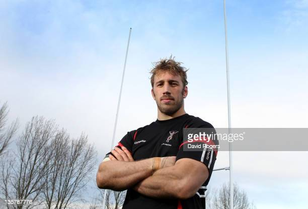 Chris Robshaw, the Harlequins captain, poses after the Harlequins training session held at the University of Surrey Sports Ground on December 14,...