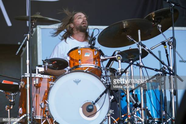 Chris Robyn of Black Map performs at Monster Energy Aftershock Festival 2017 at Discovery Park on October 22 2017 in Sacramento California