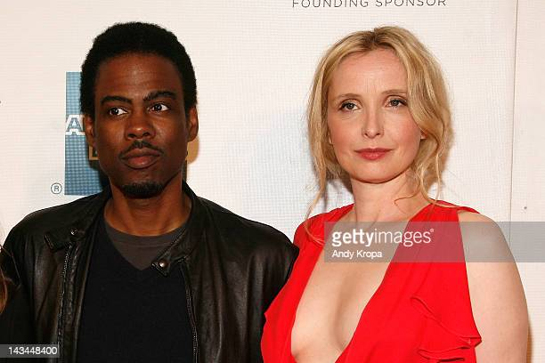 Chris Rock and actress Julie Delpy attend the 2 Days In New York Premiere during the 2012 Tribeca Film Festival at the Borough of Manhattan Community...