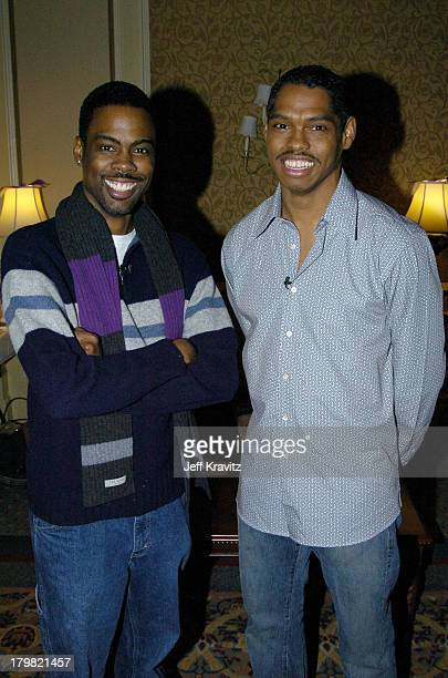 Chris Rock and Lance Crouther during The 10th Annual US Comedy Arts Festival Behind the Scenes of Pootie Tang at St Regis Hotel Ballroom in Aspen...