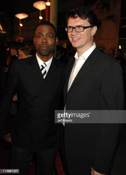 Chris Rock and Peter Rice President of Fox Searchlight Pictures