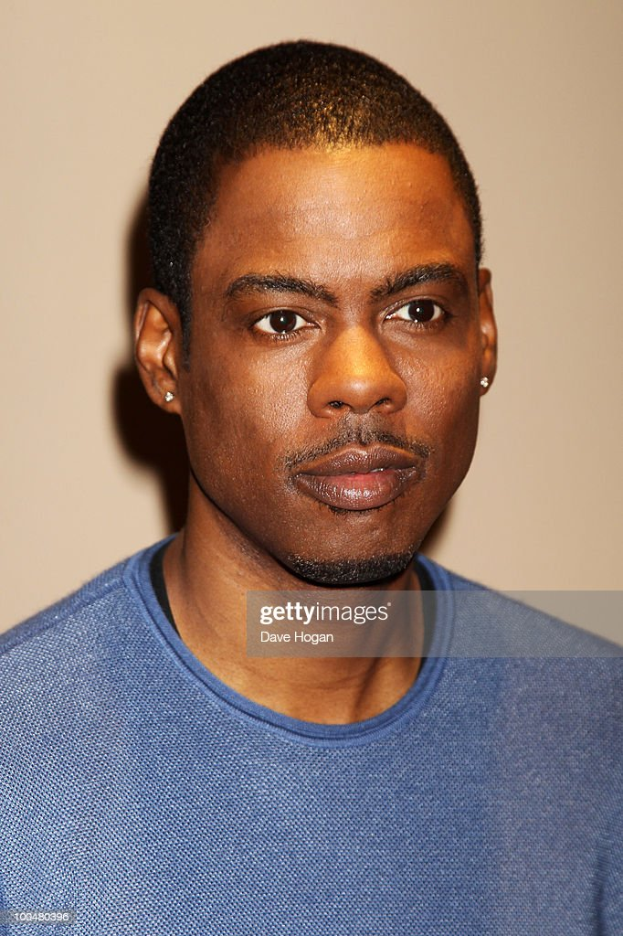Chris Rock attends a UK celebrity screening of Good Hair held at the May Fair Hotel on May 24, 2010 in London, England.