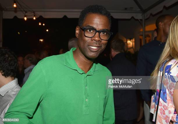 Chris Rock attends Apollo in the Hamptons at The Creeks on August 12 2017 in East Hampton New York