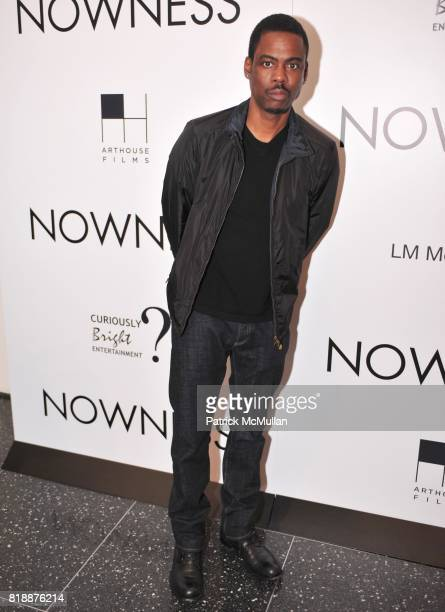 Chris Rock attends NOWNESS Presents the New York Premiere of JeanMichel Basquiat The Radiant Child at MoMa on April 27 2010 in New York City