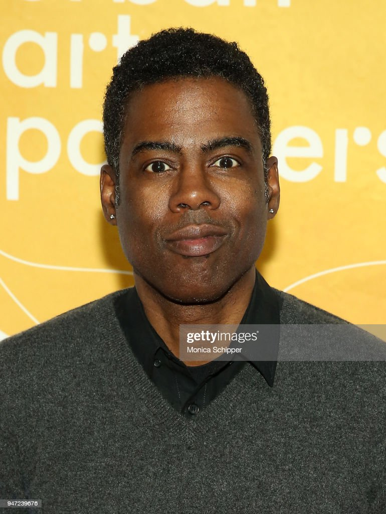 Chris Rock attends the Urban Arts Partnership's AmplifiED Gala at The Ziegfeld Ballroom on April 16, 2018 in New York City.