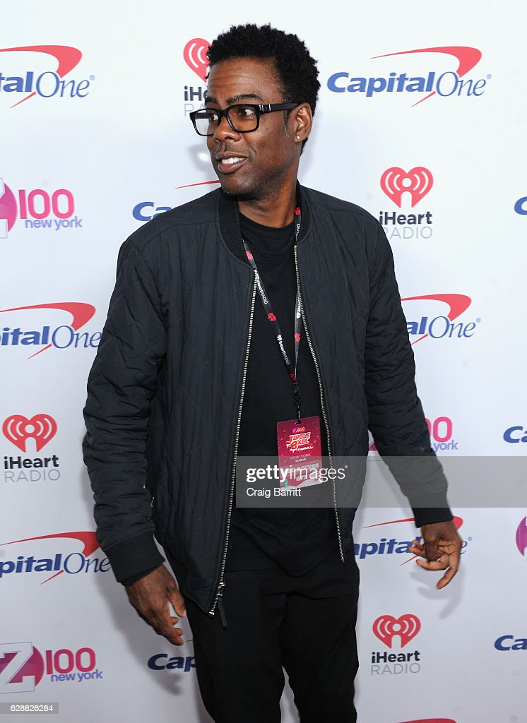 Chris Rock attends Z100's Jingle Ball 2016 at Madison Square Garden on December 9, 2016 in New York City.