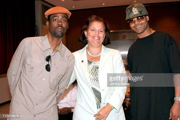 Chris Rock Debra Lee CEO and President of BET and Juvenile