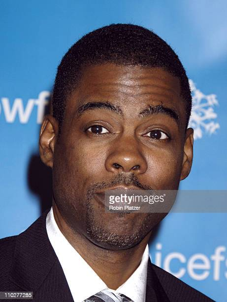 Chris Rock during 2nd Annual UNICEF Snowflake Ball Arrivals at The Waldorf Astoria Hotel in New York City New York United States