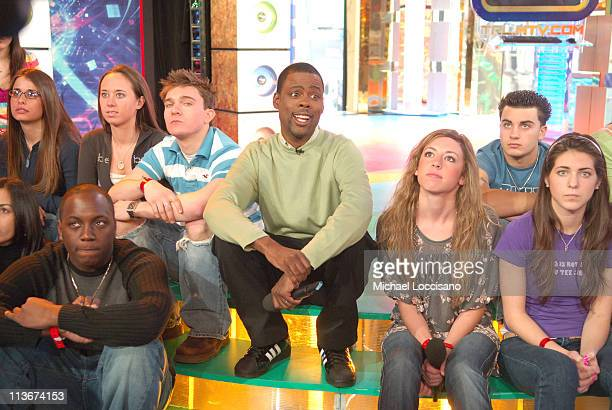 """Chris Rock during Chris Rock Hosts MTV's """"TRL"""" - March 13, 2007 at MTV Studios in New York City, New York, United States."""