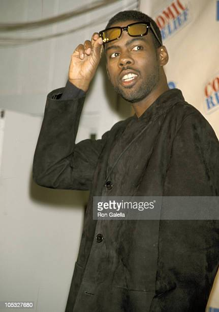 Chris Rock during Comic Relief VIII at Radio City Music Hall in New York City New York United States