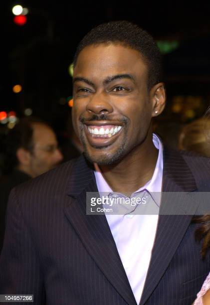 Chris Rock during Head of State Premiere at Bruin Theater in Westwood California United States
