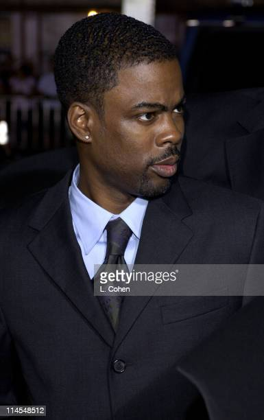 Chris Rock during 'Kill Bill Vol 1' Premiere Red Carpet at Grauman's Chinese Theater in Hollywood California United States