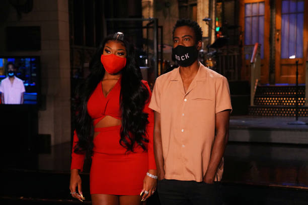 "NY: NBC'S ""Saturday Night Live"" - Chris Rock, Megan Thee Stallion"