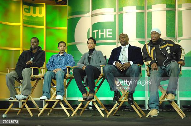 Chris Rock Executive Producer Tyler James Williams Tichina Arnold Terry Crews Ali LeRoi Executive Producer of Everybody Hates Chris