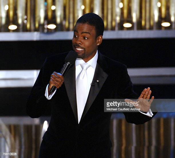 Chris Rock host of the 77th Annual Academy Awards at the Kodak Theatre in Hollywood California
