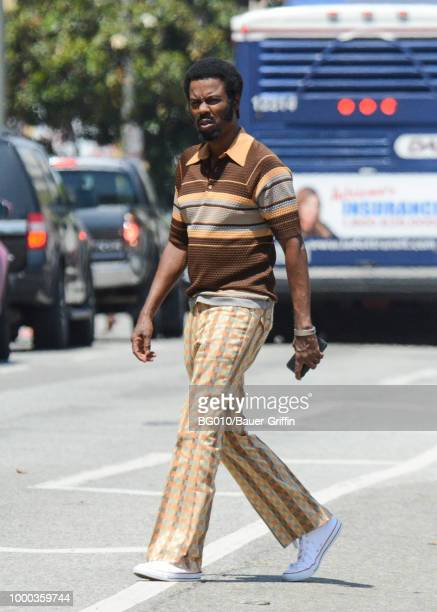 EXCLUSIVE Chris Rock is seen on July 16 2018 in Los Angeles California