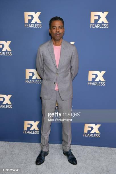 Chris Rock of 'Fargo' attends the FX Networks' Star Walk Winter Press Tour 2020 at The Langham Huntington Pasadena on January 09 2020 in Pasadena...