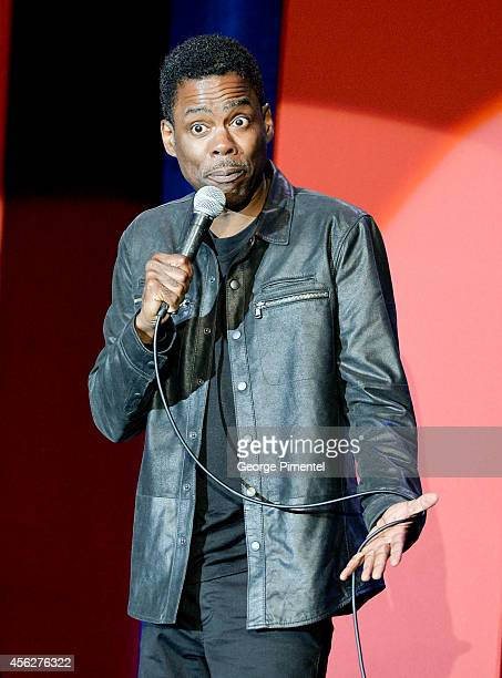 Chris Rock performs at Laughter Is The Best Medecine II The Comedy Gala at Allstream Centre on September 27 2014 in Toronto Canada