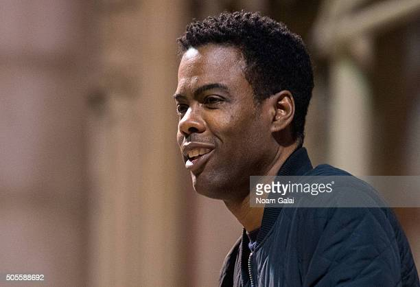 Chris Rock speaks at the 2016 MLK Now at Riverside Church on January 18 2016 in New York City
