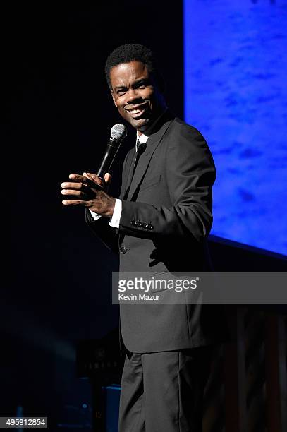 Chris Rock speaks onstage during Keep A Child Alive's 12th Annual Black Ball at Hammerstein Ballroom on November 5 2015 in New York City