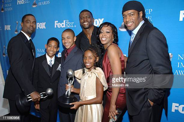 Chris Rock Tyler James Williams Tequan Richmond Terry Crews Imani Hakim Tichina Arnold and Ali LeRoi winners of Outstanding Comedy Series for...