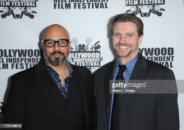 Chris Roe and Alex Wysocki arrive for The 2019 Hollywood Reel Independent Film Festival held at Regal LA Live Stadium 14 on February 15 2019 in Los...