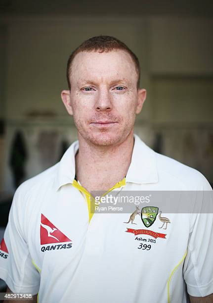 Chris Rogers of Australia poses during a portrait session at Trent Bridge on August 4 2015 in Nottingham United Kingdom